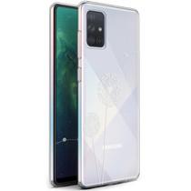 iMoshion Design hoesje Samsung Galaxy A71 - Paardenbloem - Wit