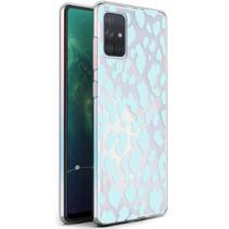 iMoshion Design hoesje Samsung Galaxy A71 - Luipaard - Blauw