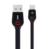 Uniq USB-C naar USB kabel - 2 meter - Zwart