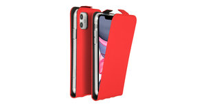 Accezz Flipcase iPhone 11 - Rood