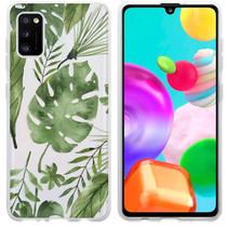 iMoshion Design hoesje Samsung Galaxy A41 - Bladeren - Groen