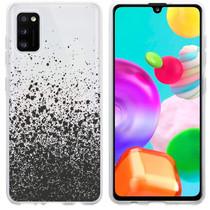 iMoshion Design hoesje Samsung Galaxy A41 - Spetters - Zwart