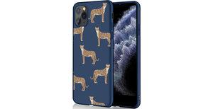 iMoshion Design hoesje iPhone 11 Pro - Luipaard - Blauw