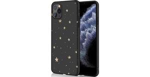 iMoshion Design hoesje iPhone 11 Pro - Sterren - Zwart / Goud