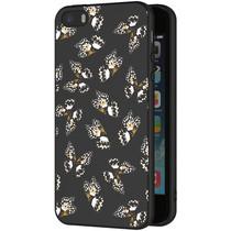 iMoshion Design hoesje iPhone 5 / 5s / SE - Vlinder - Zwart / Wit