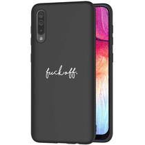 iMoshion Design hoesje Samsung Galaxy A50 / A30s - Fuck Off - Zwart