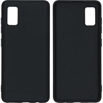 iMoshion Color Backcover Samsung Galaxy A41 - Zwart