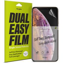 Ringke Dual Easy Anti-Stof Screenprotector iPhone 11 Pro / Xs / X