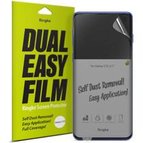 Ringke Dual Easy Screenprotector Duo Pack Samsung Galaxy S10