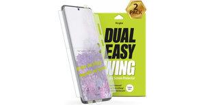 Ringke Dual Easy Wing Screenprotector Duo Pack Galaxy S20 Plus
