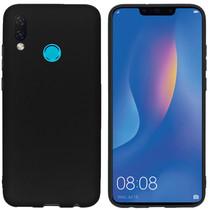 iMoshion Color Backcover Huawei P Smart (2019) - Zwart