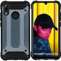 iMoshion Rugged Xtreme Backcover Huawei P Smart (2019) - Donkerblauw