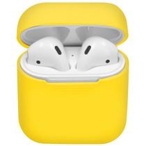 iMoshion Siliconen Case voor AirPods - Geel