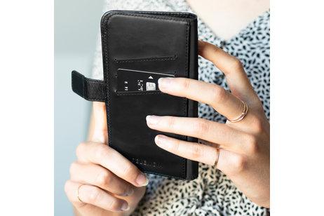 iPhone 11 hoesje - Selencia Echt Lederen Booktype