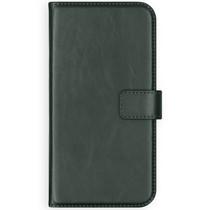 Selencia Echt Lederen Booktype Samsung Galaxy S20 Plus - Groen