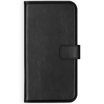 Selencia Echt Lederen Booktype Samsung Galaxy S20 Plus - Zwart
