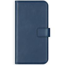 Selencia Echt Lederen Booktype Huawei P Smart - Blauw