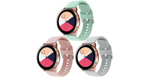 iMoshion Siliconen bandje 3-pack Watch 40/42mm / Active 2 42/44mm
