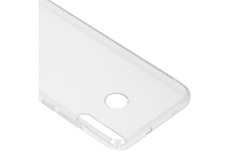 Huawei P40 Lite E hoesje - Softcase Backcover voor de