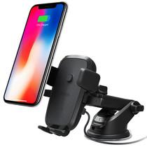 iOttie Easy One Touch Wireless Fast Charging Mount - Zwart