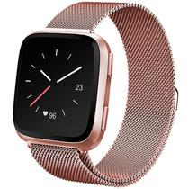 iMoshion Milanees Watch bandje Fitbit Versa 2 /Versa Lite - Rosé Goud