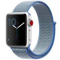 iMoshion Nylon bandje Apple Watch Serie 1/2/3/4/5 38/40mm - Blauw