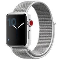 iMoshion Nylon bandje Apple Watch Serie 1/2/3/4/5 38/40mm - Grijs