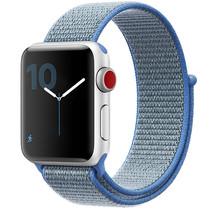 iMoshion Nylon bandje Apple Watch Serie 1/2/3/4/5 42/44mm - Blauw