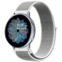 iMoshion Nylon bandje Galaxy Watch 40/42mm / Active 2 42/44mm - Wit