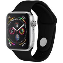 iMoshion Siliconen bandje Apple Watch 42/44 mm - Zwart