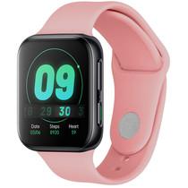 iMoshion Siliconen bandje Oppo Watch 41 mm - Roze