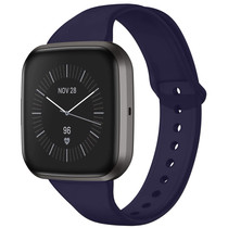 iMoshion Siliconen bandje Fitbit Versa 2 / Versa Lite - Donkerblauw