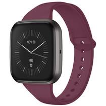 iMoshion Siliconen bandje Fitbit Versa 2 / Versa Lite - Donkerrood