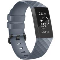 iMoshion Siliconen bandje Fitbit Charge 3 / 4 - Grijs