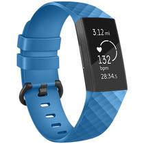 iMoshion Siliconen bandje Fitbit Charge 3 / 4 - Blauw