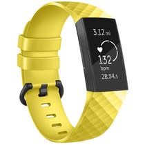 iMoshion Siliconen bandje Fitbit Charge 3 / 4 - Geel