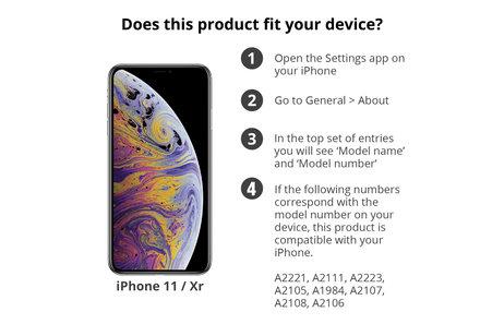Selencia Gehard Glas Screenprotector voor iPhone 12 (Pro) / 11 / Xr
