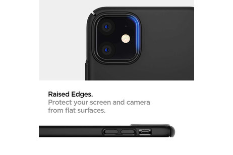 iPhone 11 hoesje - Spigen Thin Fit Air