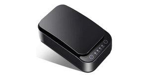 Lintelek Telefoon UV desinfectie box - Zwart