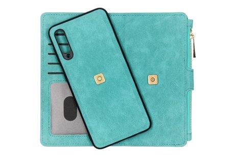 Luxe Portemonnee voor de Samsung Galaxy A50 / A30s - Turquoise