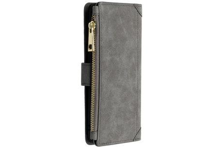 Luxe Portemonnee voor de Samsung Galaxy A50 / A30s - Grijs