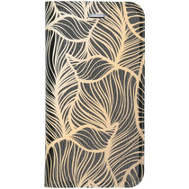 Design Softcase Booktype iPhone SE (2020) / 8 / 7