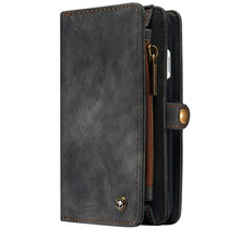 CaseMe Luxe Lederen 2 in 1 Portemonnee iPhone SE (2020) / 8 / 7