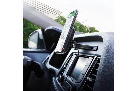 iOttie iTap 2 Wireless Fast Charging CD-Slot Mount Houder - Zwart