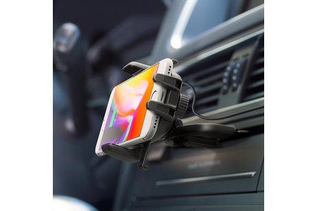 iOttie Easy One Touch Wireless Fast Charging CD-Slot Mount Houder - Zwart