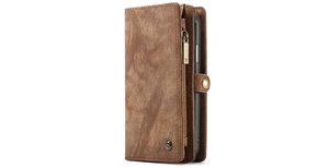 CaseMe Luxe Lederen 2 in 1 Portemonnee Booktype iPhone Xr