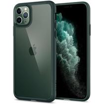 Spigen Ultra Hybrid Backcover iPhone 11 Pro - Groen