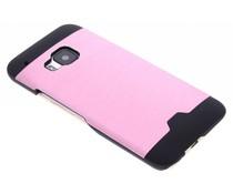 Roze brushed aluminium hardcase HTC One M9
