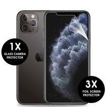 iMoshion Screenprotector Folie 3Pack + Camera Protector iPhone 11 Pro
