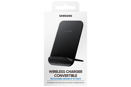 Samsung Fast Charge Wireless Charger Stand Convertible - Zwart